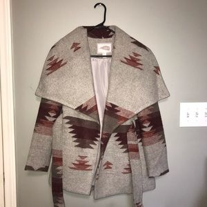 NEW Forever 21 Contemporary Coat Jacket